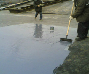 битумная гидроизоляция крыши