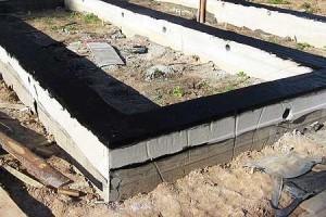 гидроизоляция сборных ленточных фундаментов